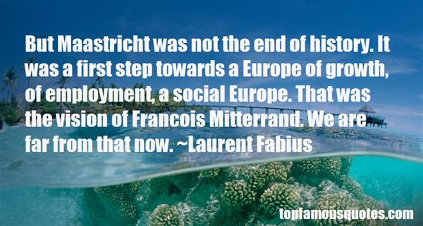 Quotes About Maastricht