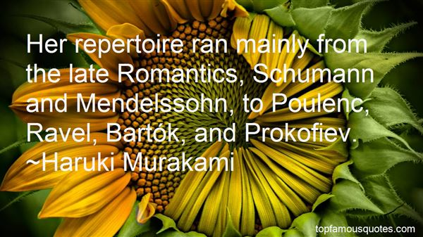 Quotes About Mendelssohn