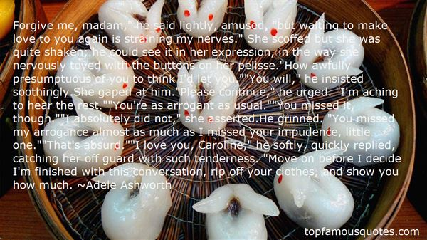 Quotes About Miss Caroline