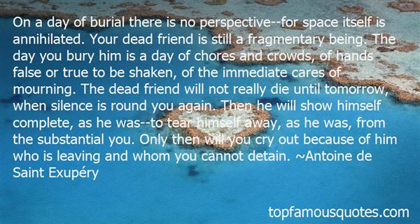 Quotes About Mourning A Friend