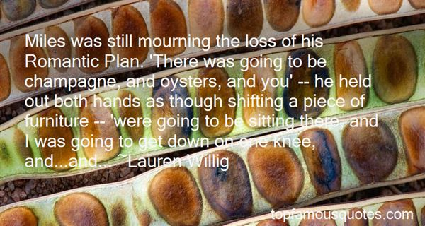 Quotes About Mourning Loss