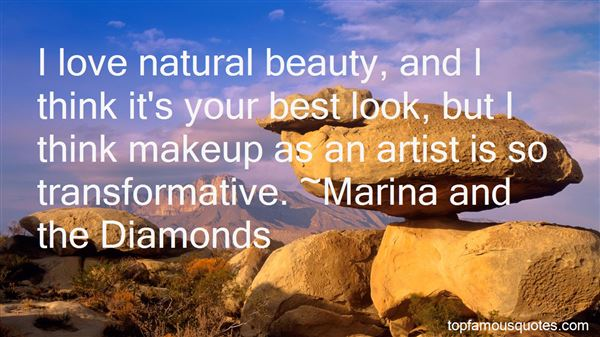 Natural Beauty And Makeup Quotes Best 1 Famous Quotes About Natural Beauty And Makeup