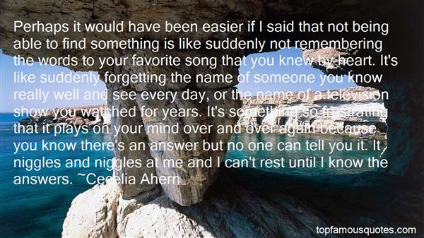Quotes About Not Forgetting Someone