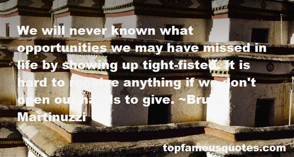 Quotes About Opportunities Missed