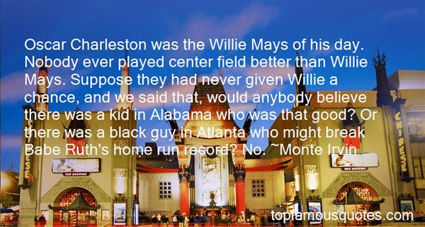 Quotes About Oscar Charleston
