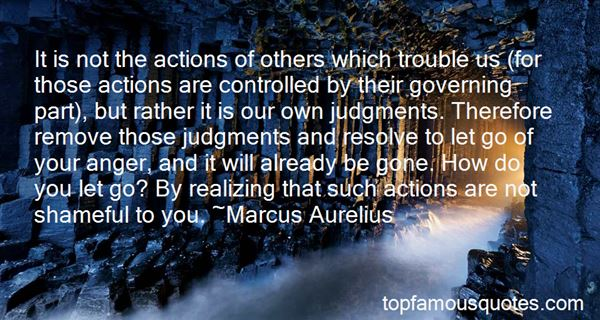 Quotes About Others Actions