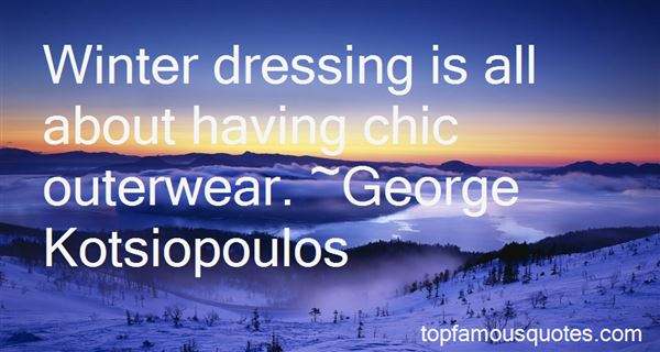 Quotes About Outerwear