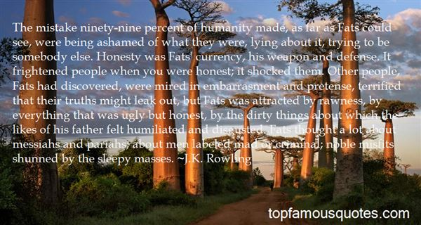Quotes About Pariahs