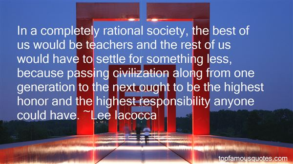 Quotes About Passing On Responsibility