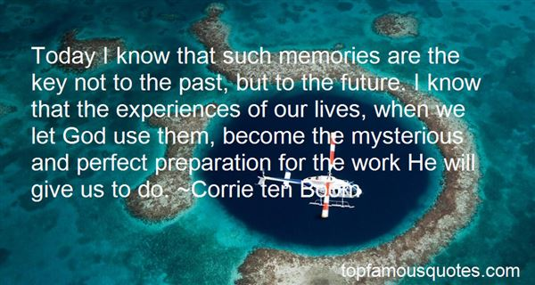 Quotes About Past Experiences
