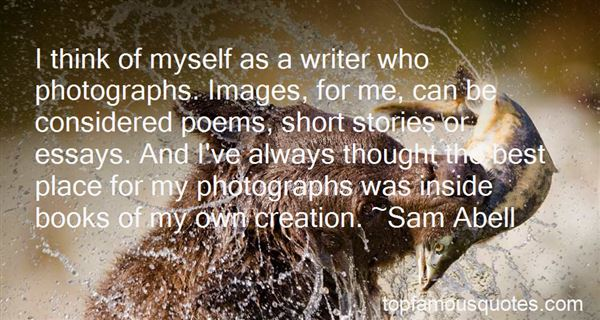 Quotes About Photo Essays