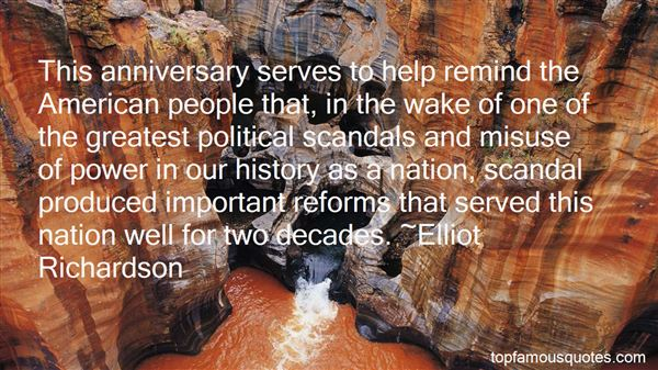 Quotes About Political Scandals