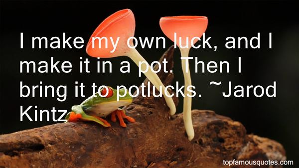 Quotes About Potlucks
