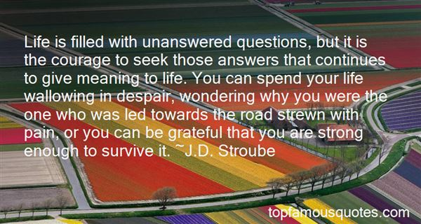 Quotes About Questions In Life