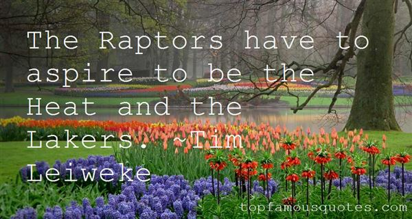 Quotes About Raptors