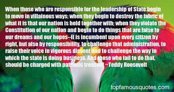 Quotes About Responsible Leadership