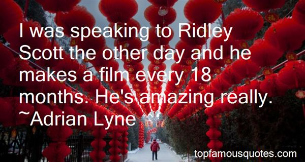 Quotes About Ridley Scott