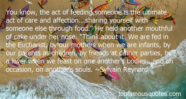 Quotes About Sharing Your Food
