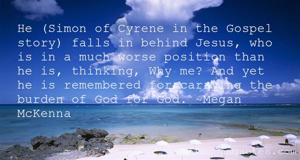Quotes About Simon Of Cyrene