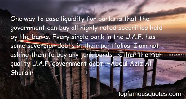 Quotes About Sovereign Debt