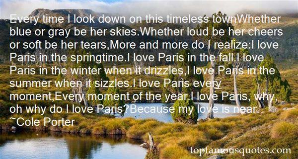 Quotes About Springtime In Paris