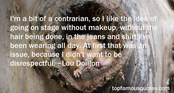 Quotes About Stage Makeup
