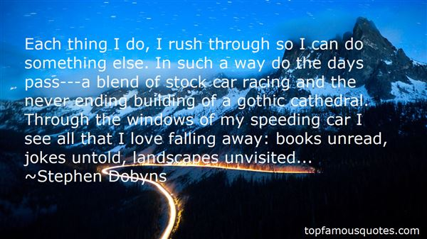 Quotes About Stock Car Racing