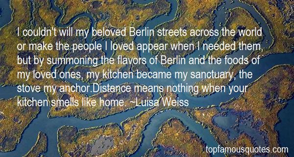 Quotes About Street Foods