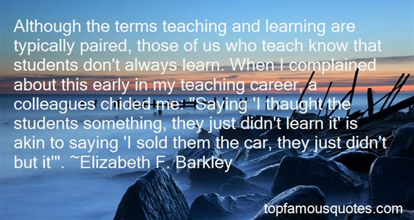 Quotes About Teaching And Students