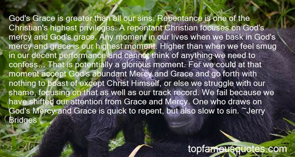 Quotes About The Grace And Mercy Of God