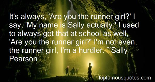 Quotes About The Name Sally