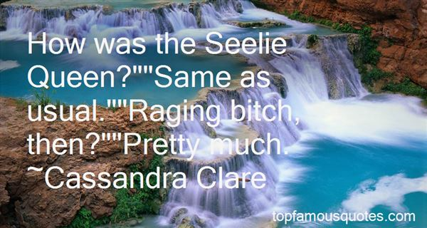 Quotes About The Seelie Queen