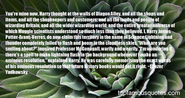 Quotes About The Wizarding World Of Harry Potter