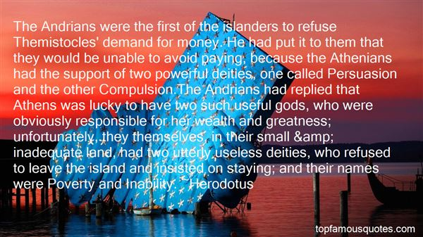 Quotes About Themistocles