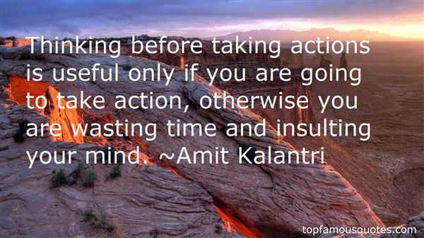 Quotes About Thinking Before You Act