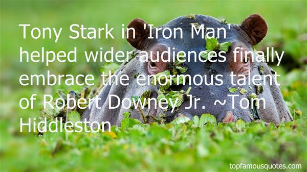 Quotes About Tony Stark