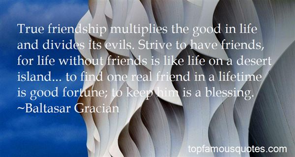 Quotes About True Friendship And Life
