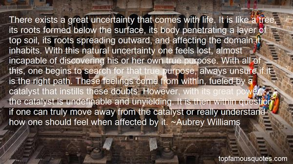 Quotes About Uncertain Feelings