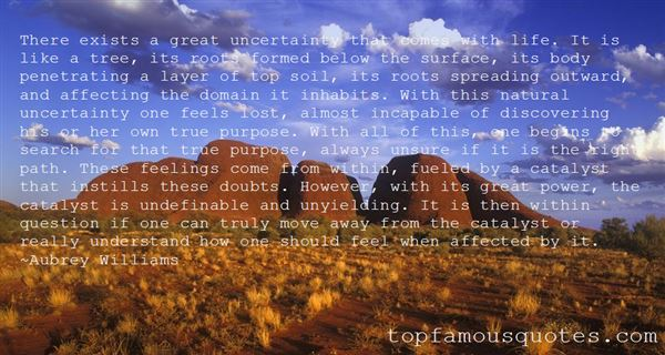 Quotes About Uncertainty And Doubt