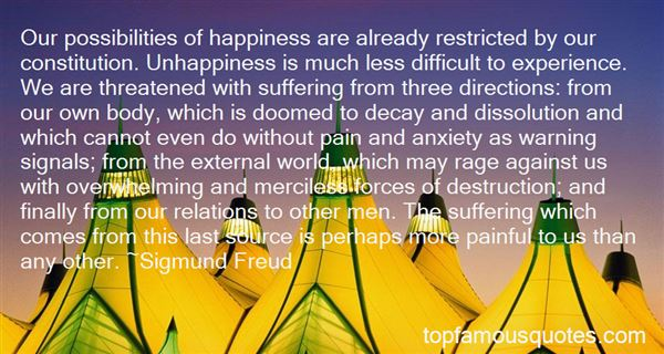 Quotes About Unhappiness And Pain