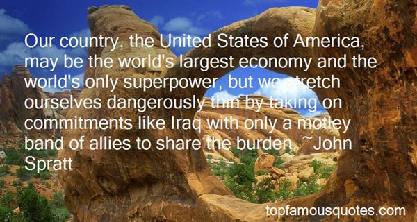 Quotes About United States Superpower