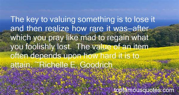Quotes About Valuing Something