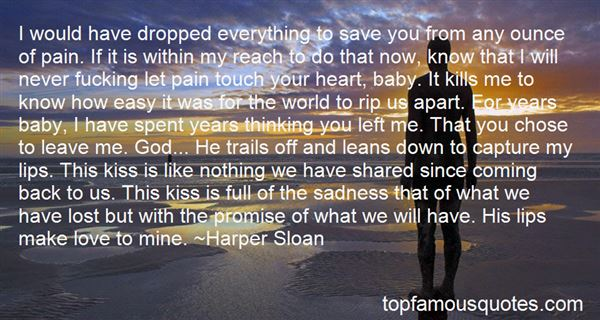 Quotes About Very Sad Love