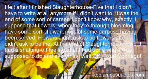 Quotes About War In Slaughterhouse Five