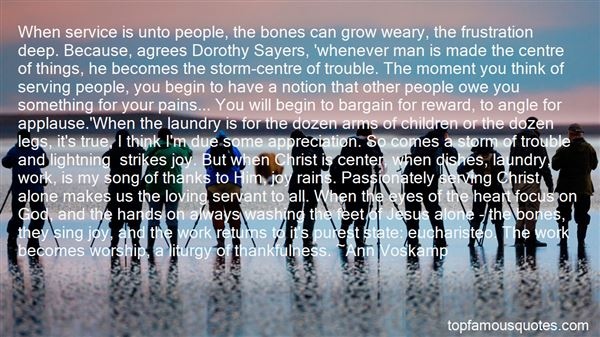 Quotes About Washing Feet