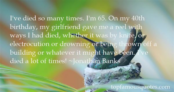 Quotes About 40 Birthday