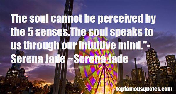 Quotes About 5 Senses