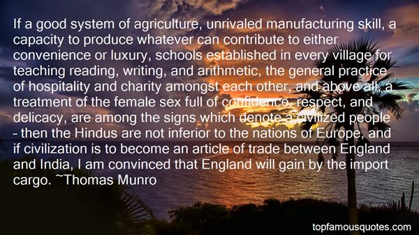 Quotes About Agriculture In India