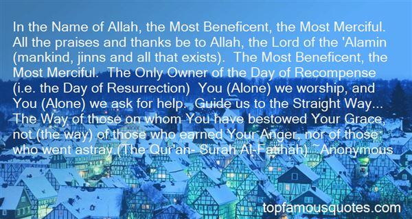 Quotes About Allah Help