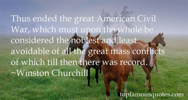 Quotes About American Civil War